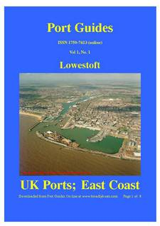 PortLowestoftCover